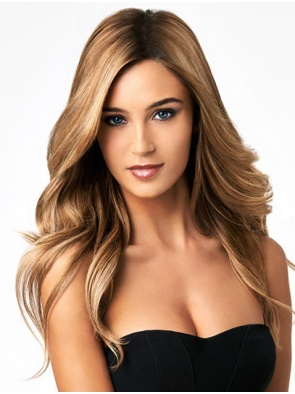 Wigs For Women Wavy Blonde Without Bangs