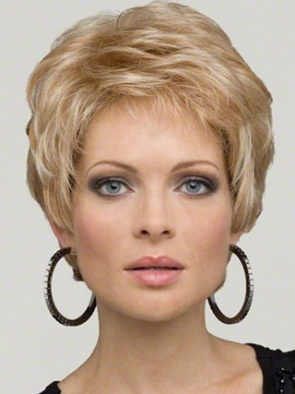 Fishnet Lace Front Synthetic Wig