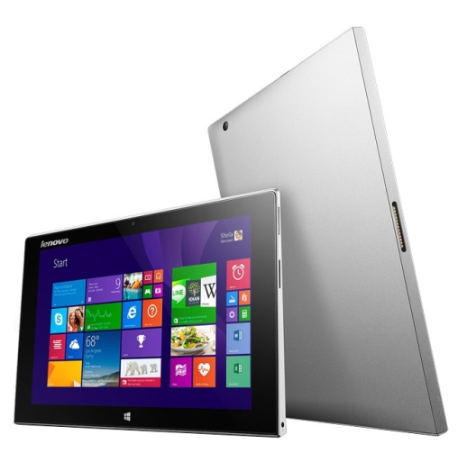 Lenovo MIIX10 Tablet PC 64GB 10.1 Inch Windows 8, RAM: 2GB(Silver)Cherry Trail Quad Core 1.44-1.84GH