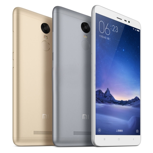 Xiaomi Redmi Note 3 32GB, Network: 4G,5.5 inch MIUI V7 MediaTek Helio X10 Octa Core 2.0GHz, RAM: 3GB