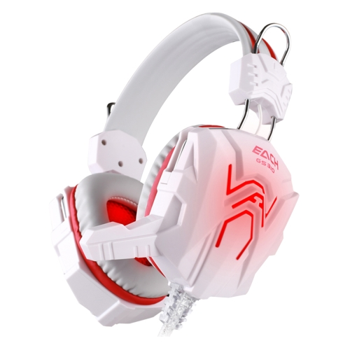 KOTION EACH GS310 Stereo Gaming Headphone Computer Game Headset Headband with Microphone Glaring LED