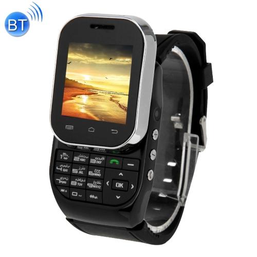 KEN XIN DA W1 Smart Watch Phone,1.44 inch QCIF Touch Screen & Slide-out Keyboard, Support Dual SIM,