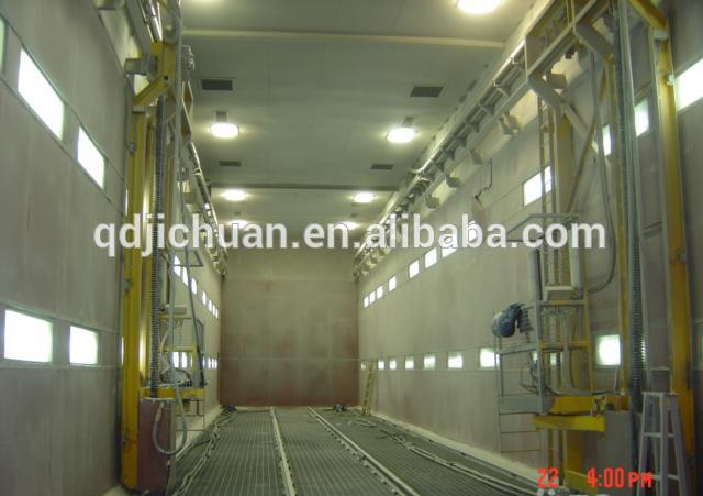 sand blasting booth cleaning machinery in china