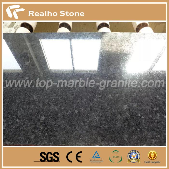 Polished Angola Black Granite Slabs
