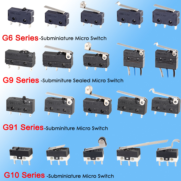 miniature micro switch supplier
