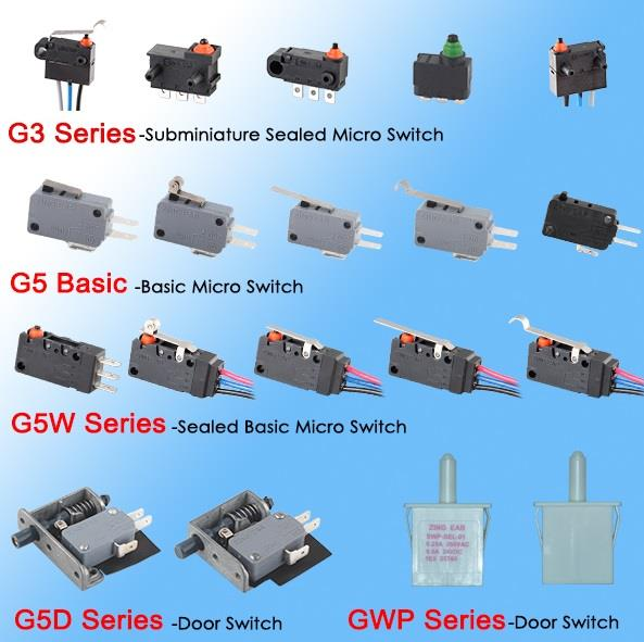 micro switch 5A series