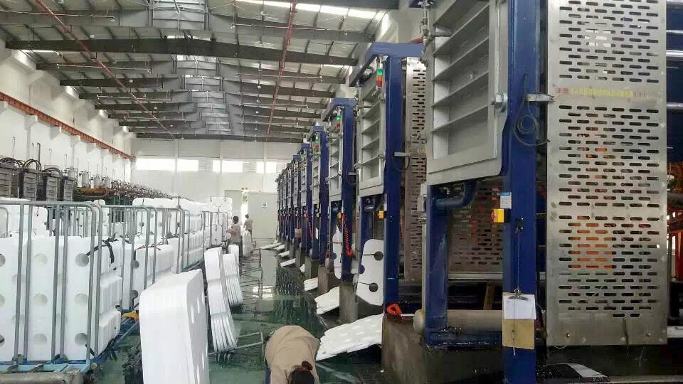 Longwell Custom Made EPS Molding Machines