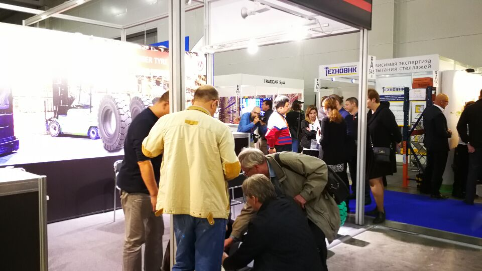 Moscow, Russia --The 8th International Exhibition for materials handling, warehousing equipment and logistics ( CeMAT fair) (4).jpg