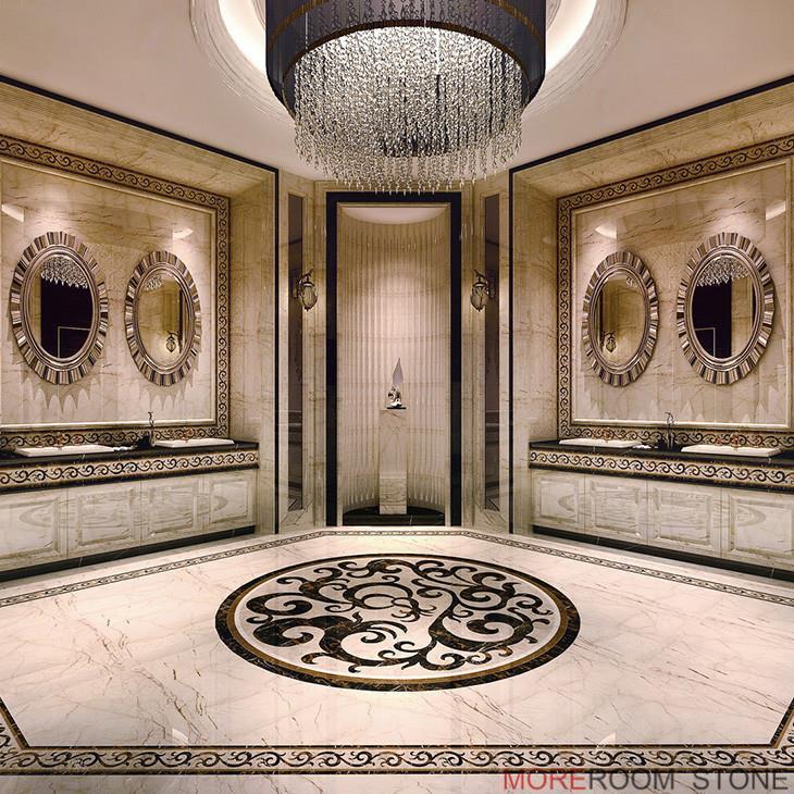 Lobby Design porcelain marble floor tile.jpg
