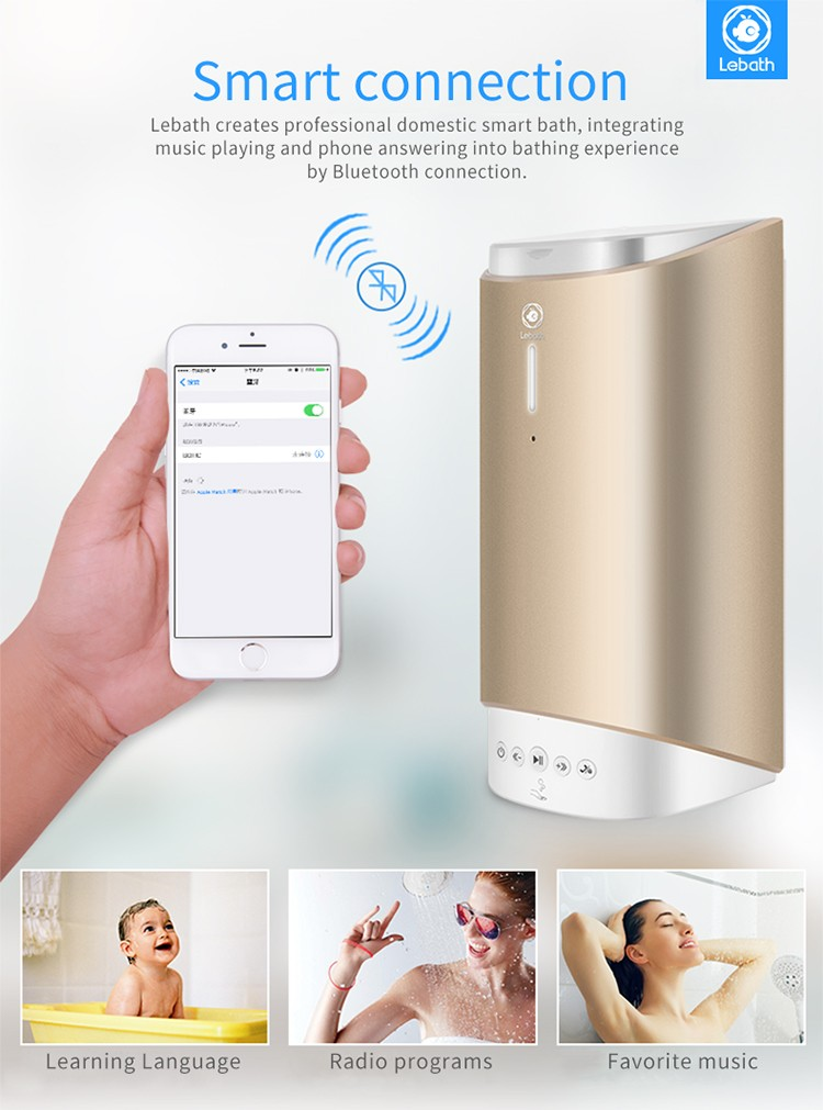 Bluetooth Music Foaming Dispenser Home Rechargeable Automatic Smart Foam Dispenser3