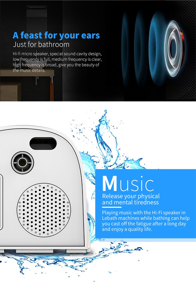 Bluetooth Music Foaming Dispenser Home Rechargeable Automatic Smart Foam Dispenser7