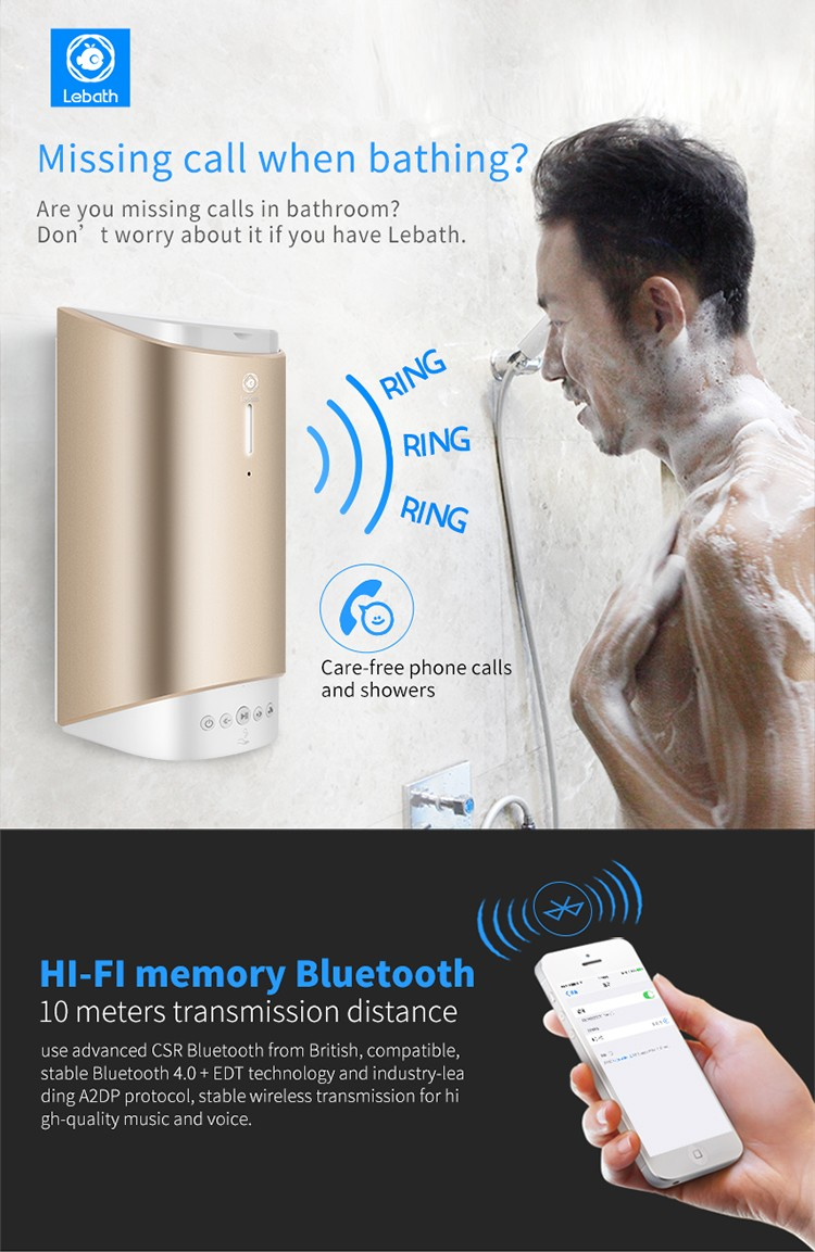 Bluetooth Music Foaming Dispenser Home Rechargeable Automatic Smart Foam Dispenser10