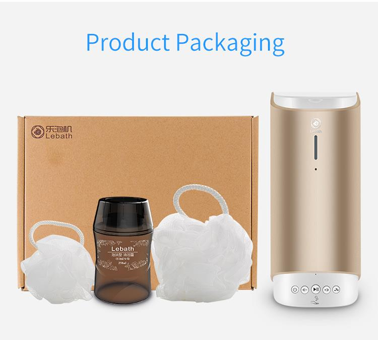Bluetooth Music Foaming Dispenser Home Rechargeable Automatic Smart Foam Dispenser20
