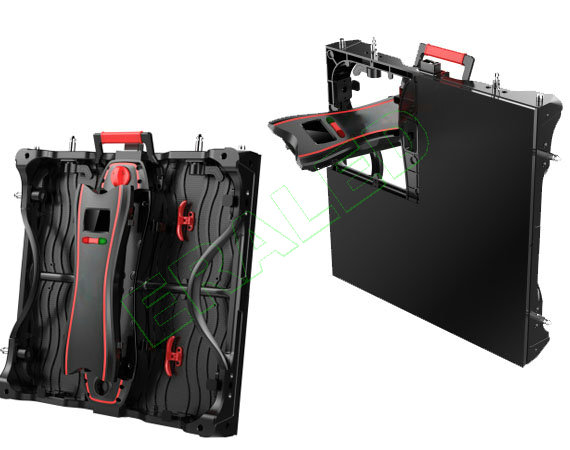 Conexión sin cables 500x500 Armario de fundición a presión Alquiler de pantalla LED-Control Box Handling.jpg