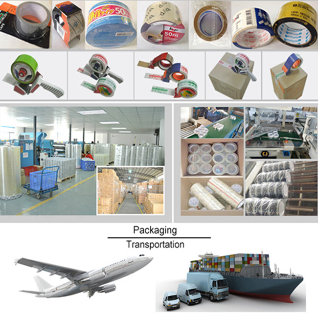 Acrylic Glue Brown and Transparent BOPP Packing Adhesive Tape
