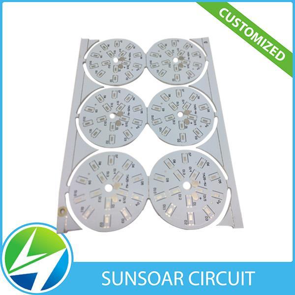 LED আলো জন্য তাপ প্রতিরোধের অ্যালুমিনিয়াম বেস PCB