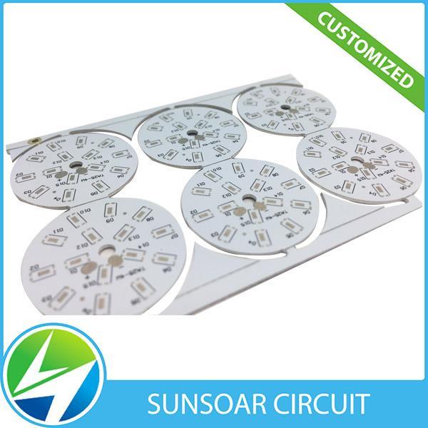 Skreddersydd LED-modulutvikling aluminium-PCB for ledet