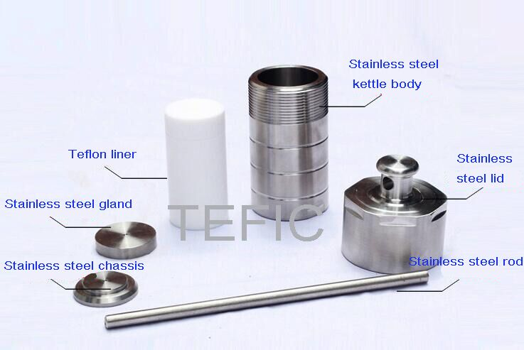 Teflon Lined Hydrothermal Synthesis Reactor unit.jpg
