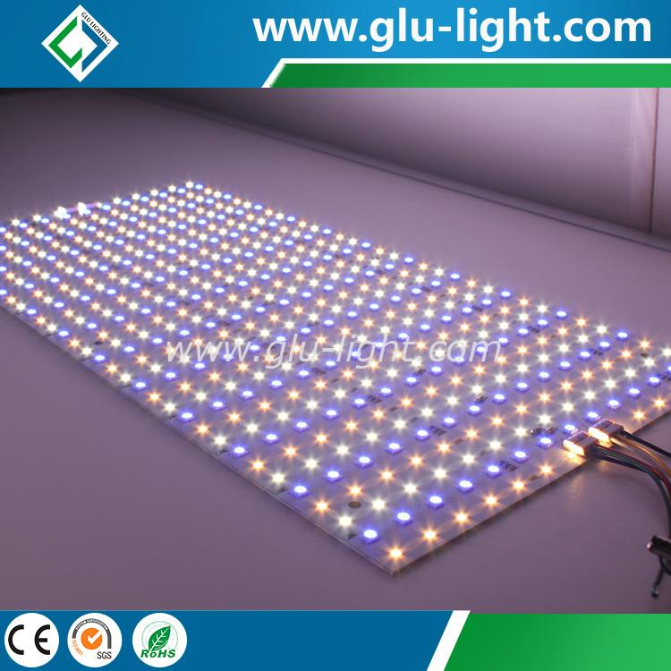 RGBWWW 5 colors high cri flexible/rigid  led panel light supplier