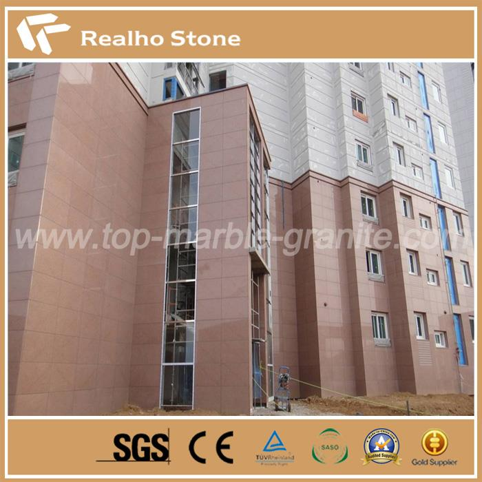 Good Price China G386 Isola Red Granite for Exterior Wall Cladding Designs