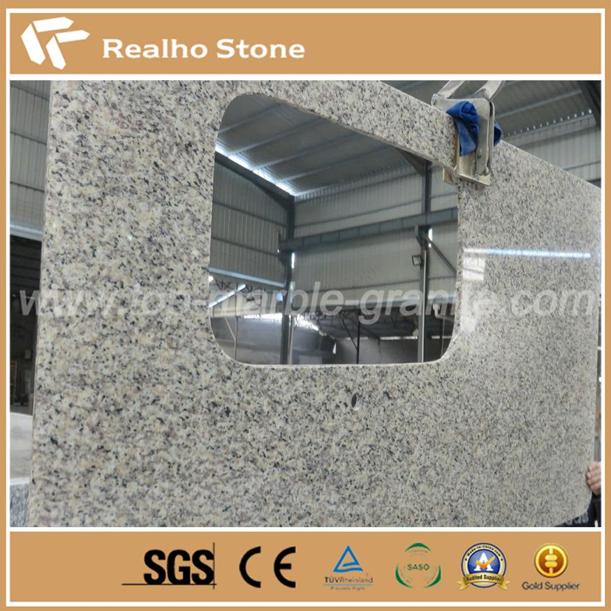 Tiger skin white granite is a popular material for kitchen and bathroom countertops. It is white granite with attractive texture. Tiger skin granite countertops are popular in worldwide market, especially for North American customers.