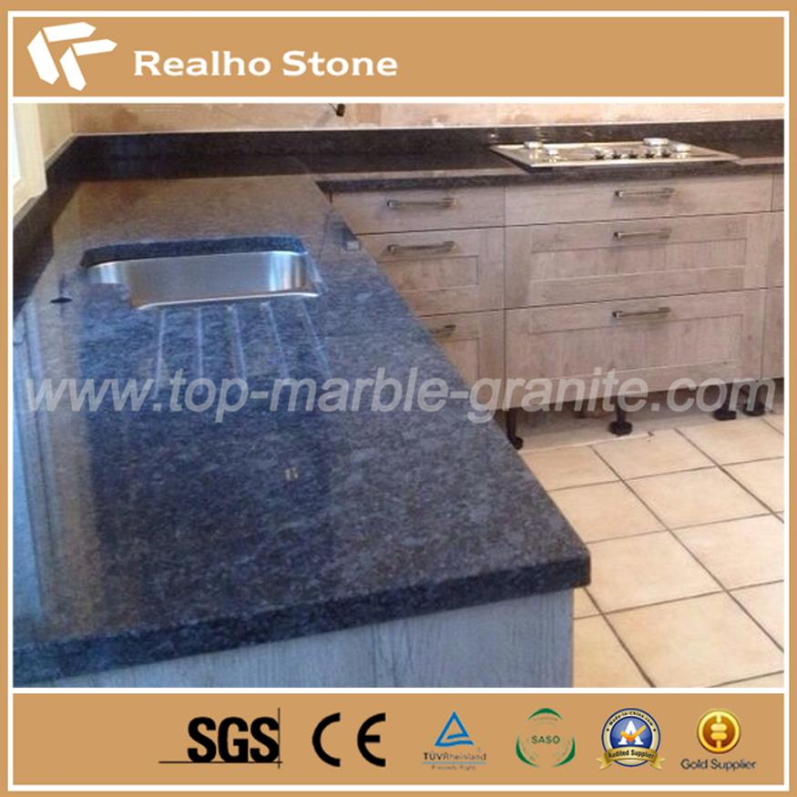 Grey Colour Granite Tops Steel Gray Granite for Kitchen and Bathroom