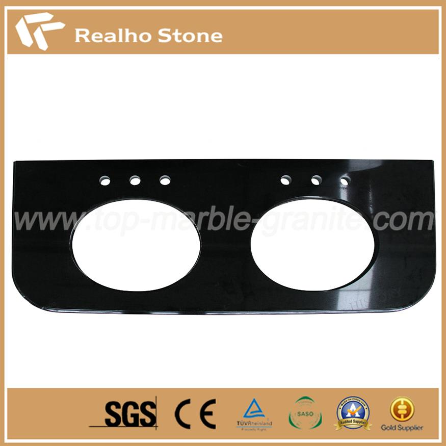 Absolute Black Granite Vanity tops from China with best price