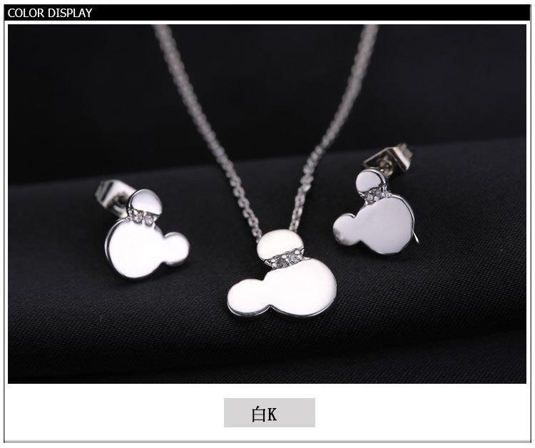 diamond - studded women necklace