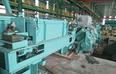 wire rod rolling mill line