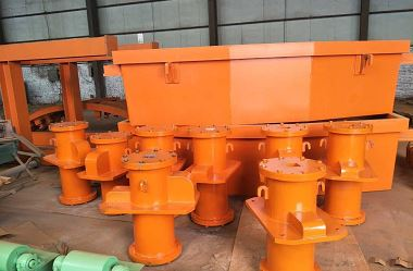 80-130mm copper moulds and 7.5 to 8t tundish