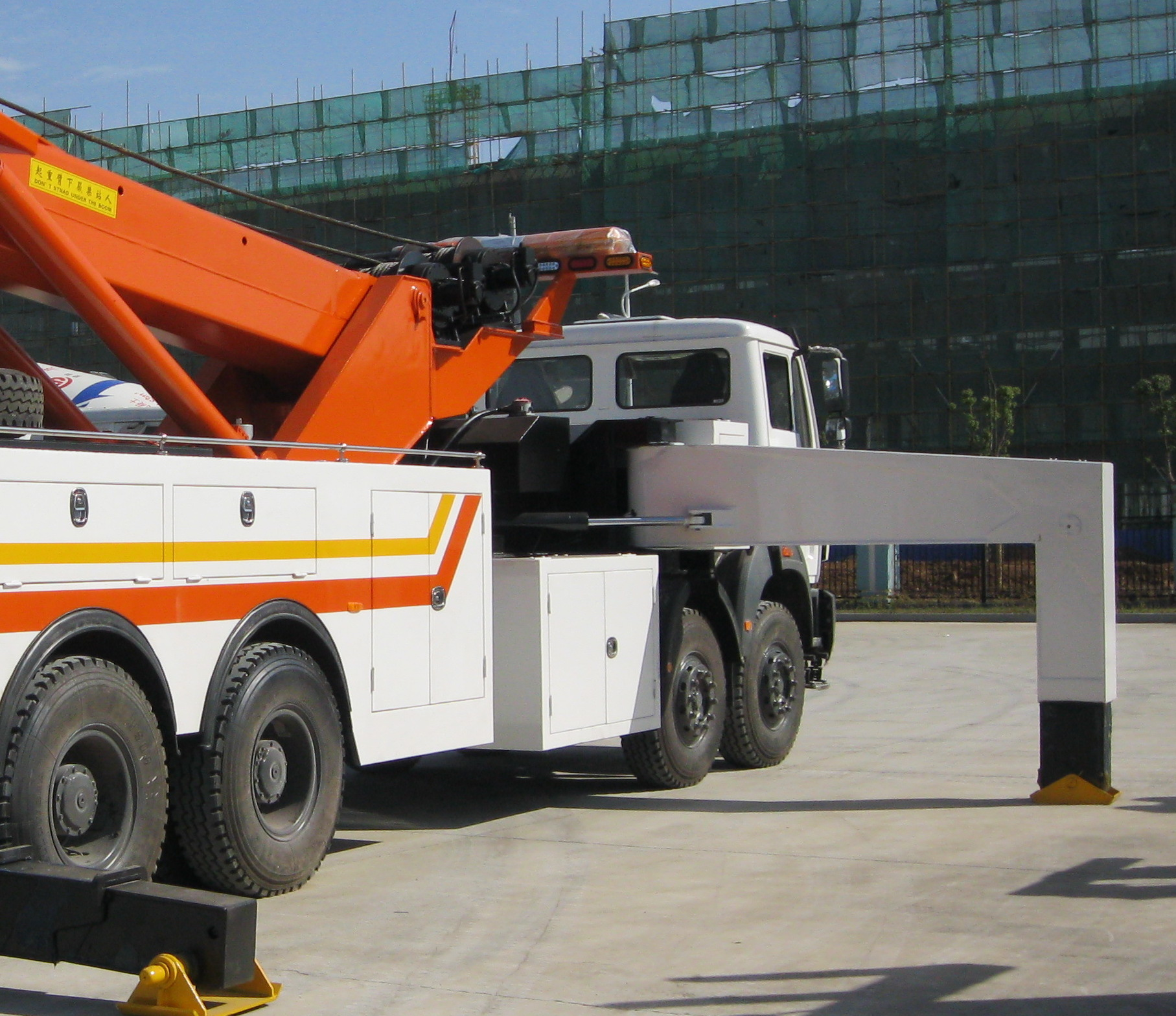70 Ton Rotator Tow Truck Side Puller