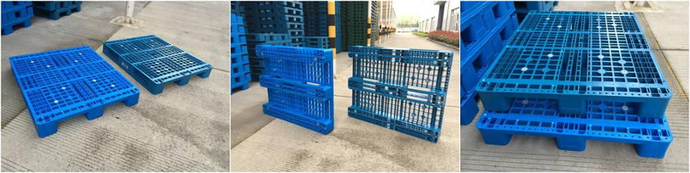 hdpe heavy duty recycle euro stackable durable large plastic pallet for sale