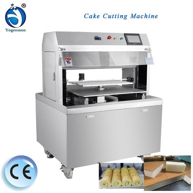 Automatic cake cutting machine for the cake processing machine(4)
