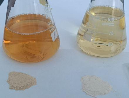 Ginseng water solubable testing