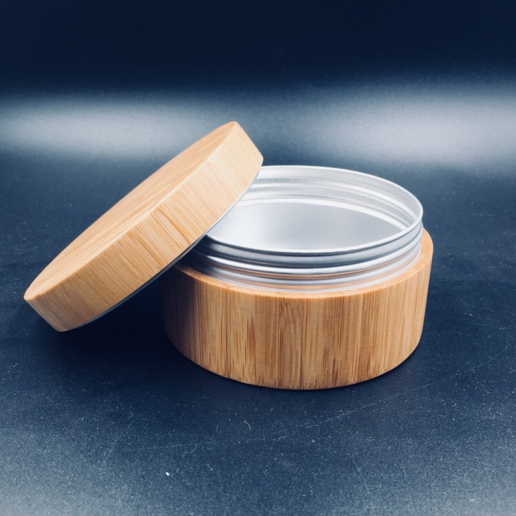 New Design Big Size 200g Bamboo Jar.