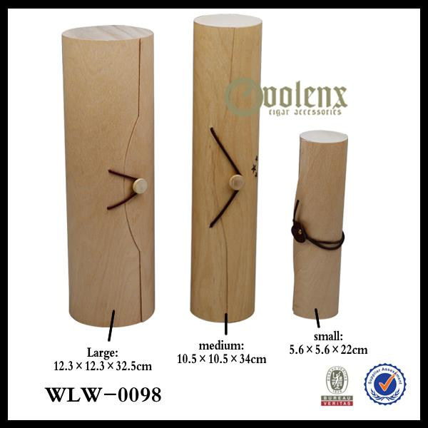 different sizes of wooden wine boxes