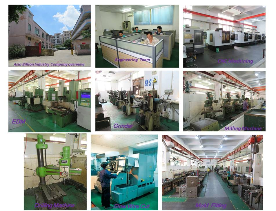 Asia Billion Industry Plastic Injection Mould Making Process