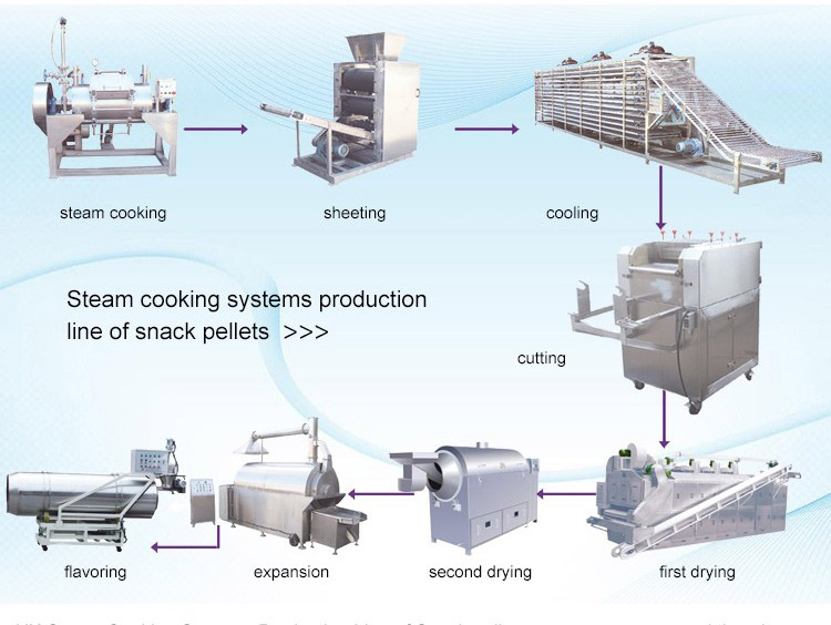 Steam Cooking Systems Production Line
