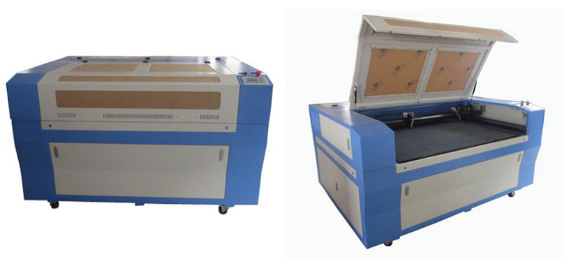 double heads laser cutting machine