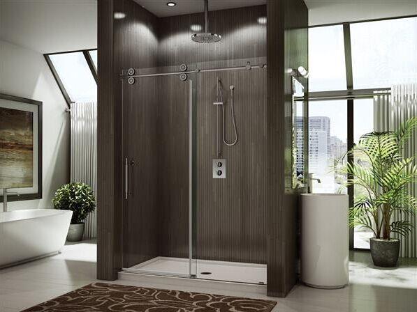 Frameless glass sliding shower door luxury.jpg