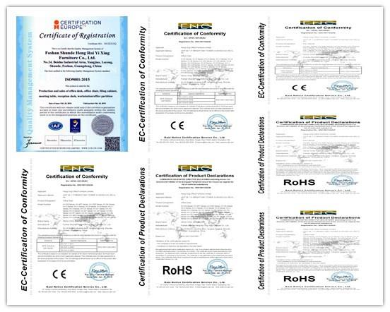 certificado de heng xing