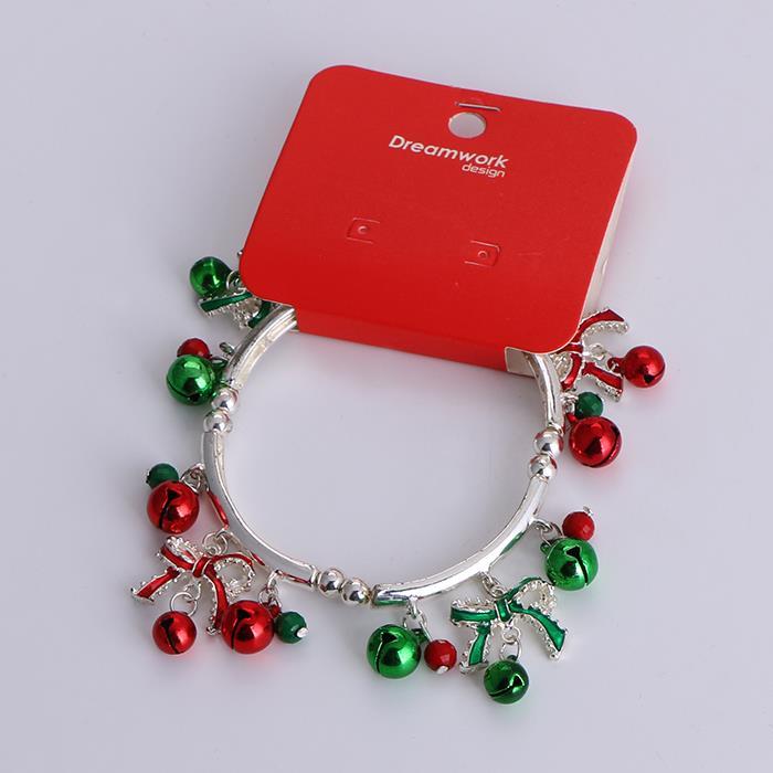 Fashion Christmas Bell Bracelet Christmas Child Gift.jpg