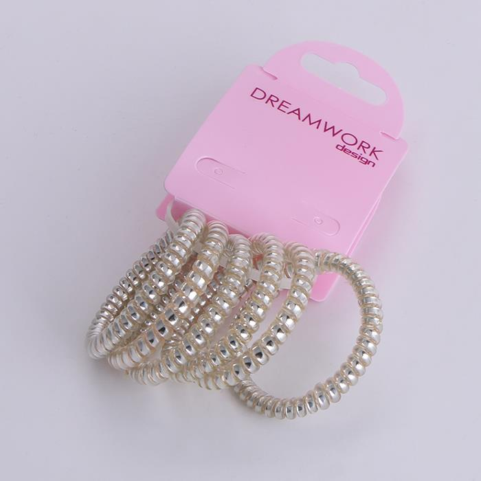 6pcs telephone line elastic pearl hair band.jpg