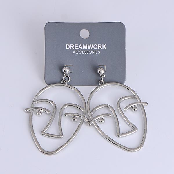 Korean personalized face hollow earrings.jpg