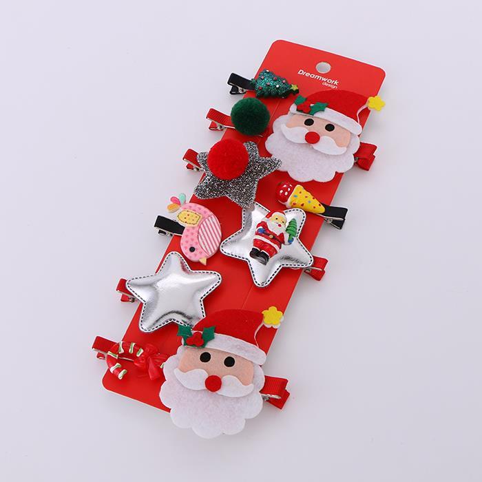 Beautiful Christmas themed hair clips.JPG