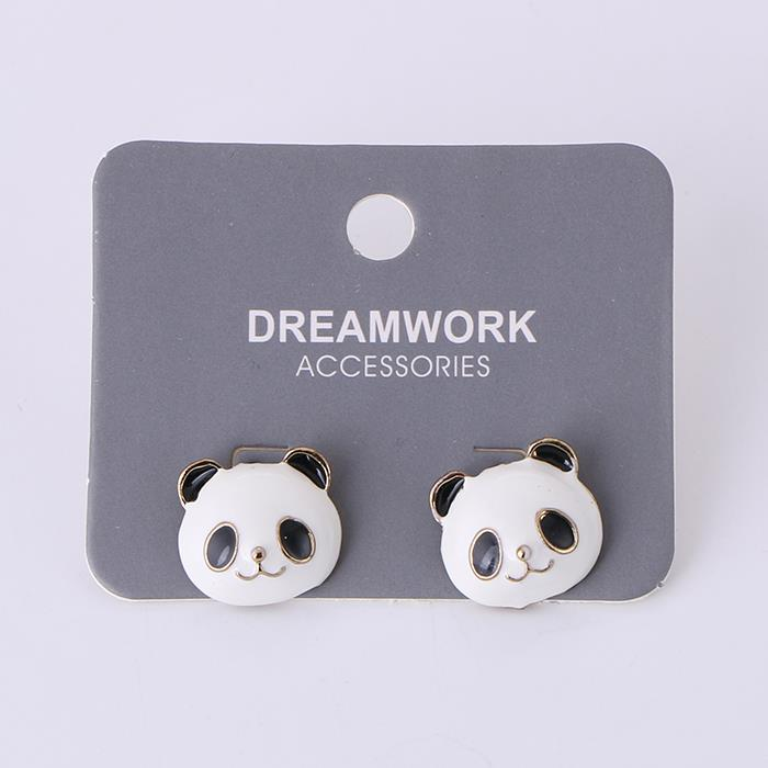 Lovely Panda Earrings Animal Earrings for girl.JPG