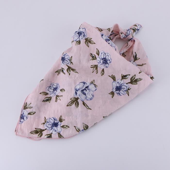 Charm Women Square Towel Cotton Scarf.JPG