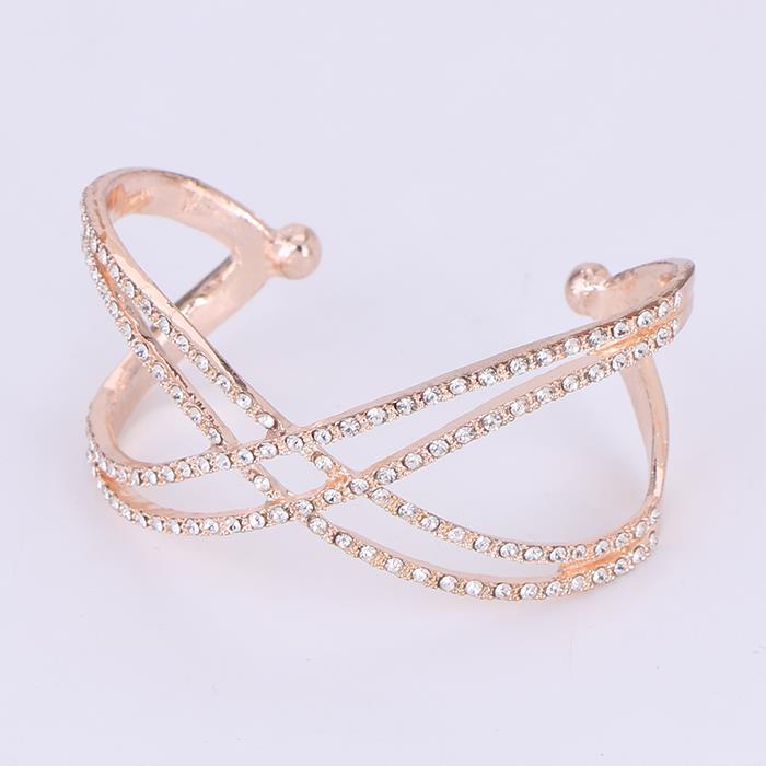 Elegant Crystal Geometric Bangle& Bracelet.JPG