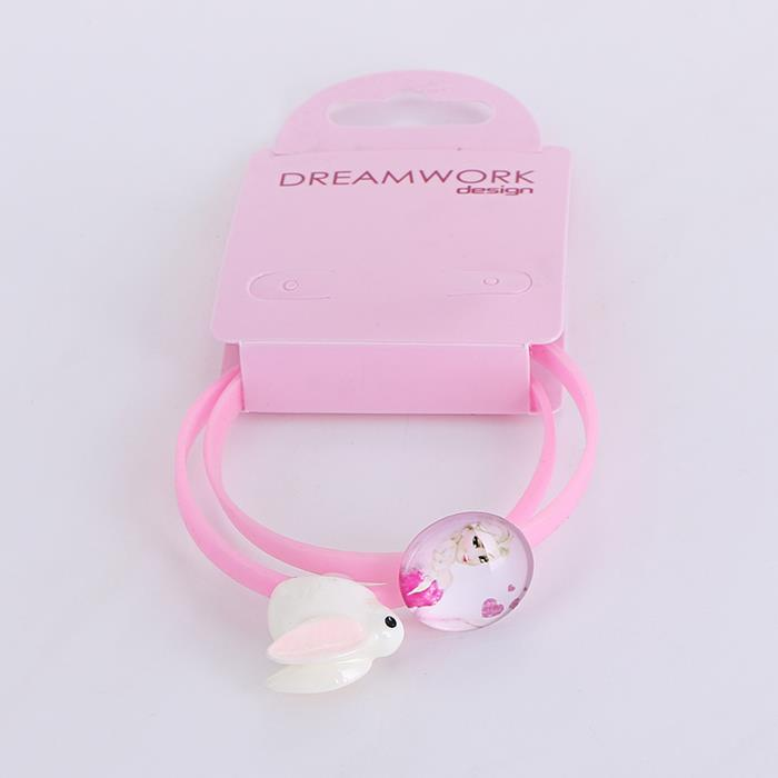 Cute Rabbit Princess Silicone Bracelet Set.jpg