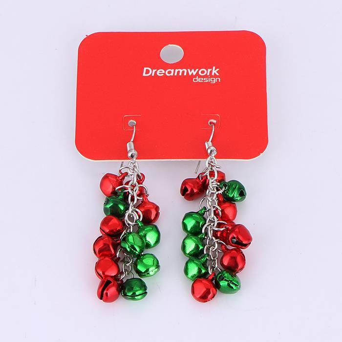 Lovely Christmas Bell Dangle Earrings.jpg